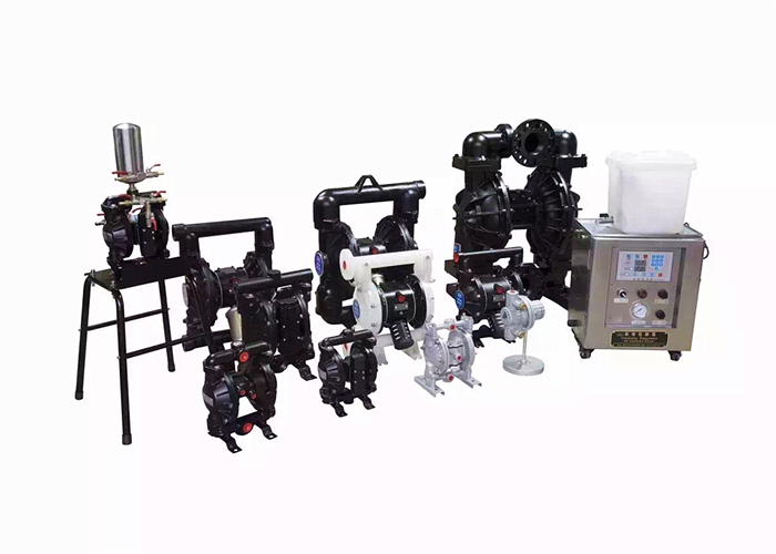 One Way Pneumatic Diaphragm Pump For Printing Circulate Pumping Machine 9