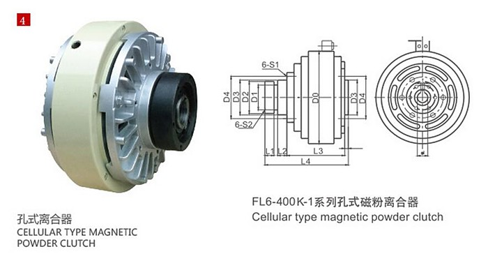 High quality magnetic powder clutch for any industrial machine .jpg