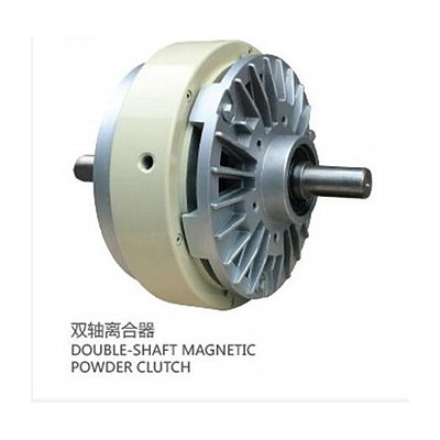 Super durable magnetic powder particle clutch for printing machine